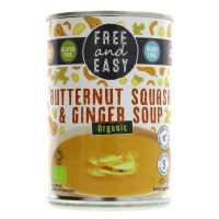 Free & Easy Organic Butternut Squash & Ginger Soup 400g